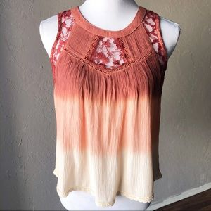 Patrons of Peace Ombre Tank Top